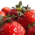 Erdbeermaske für trockene Haut