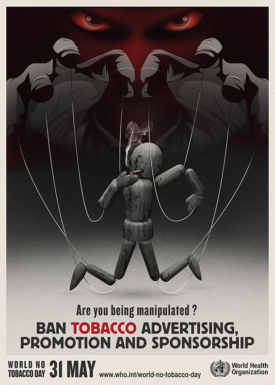 Plakat der WHO zum Welt-Nichtrauchertag 2013 - apotheken-wissen.de
