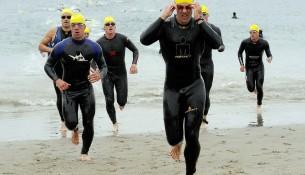 Impression aus einem Triathlon - apotheken-wissen.de